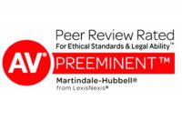 St. Petersburg and Clearwater Criminal Defense Attorneys With the Highest AV Rating Designation
