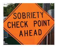 Advised Law Enforcement Personnel at DUI Checkpoints